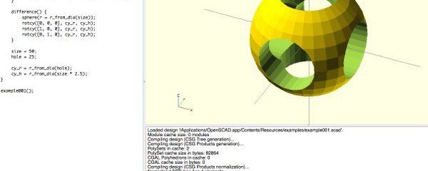 Introduction to OpenSCAD
