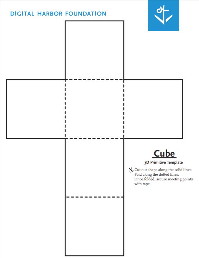 cube primitive template