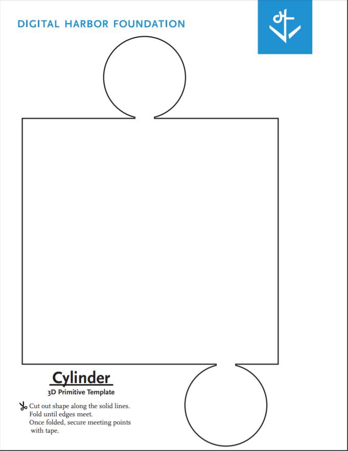 cylinder primitive template