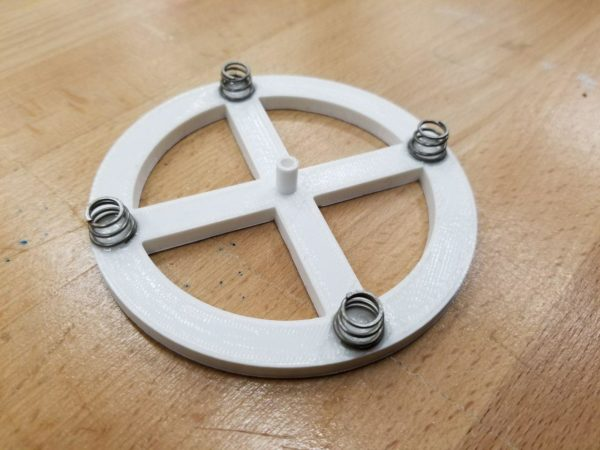 Bottom Springs of Makey makey dial