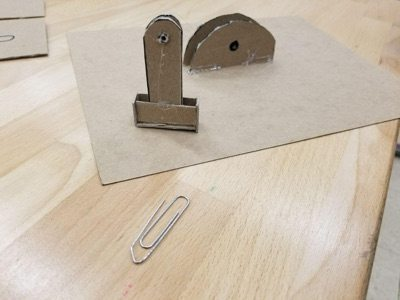 handle and base side by side with paperclip
