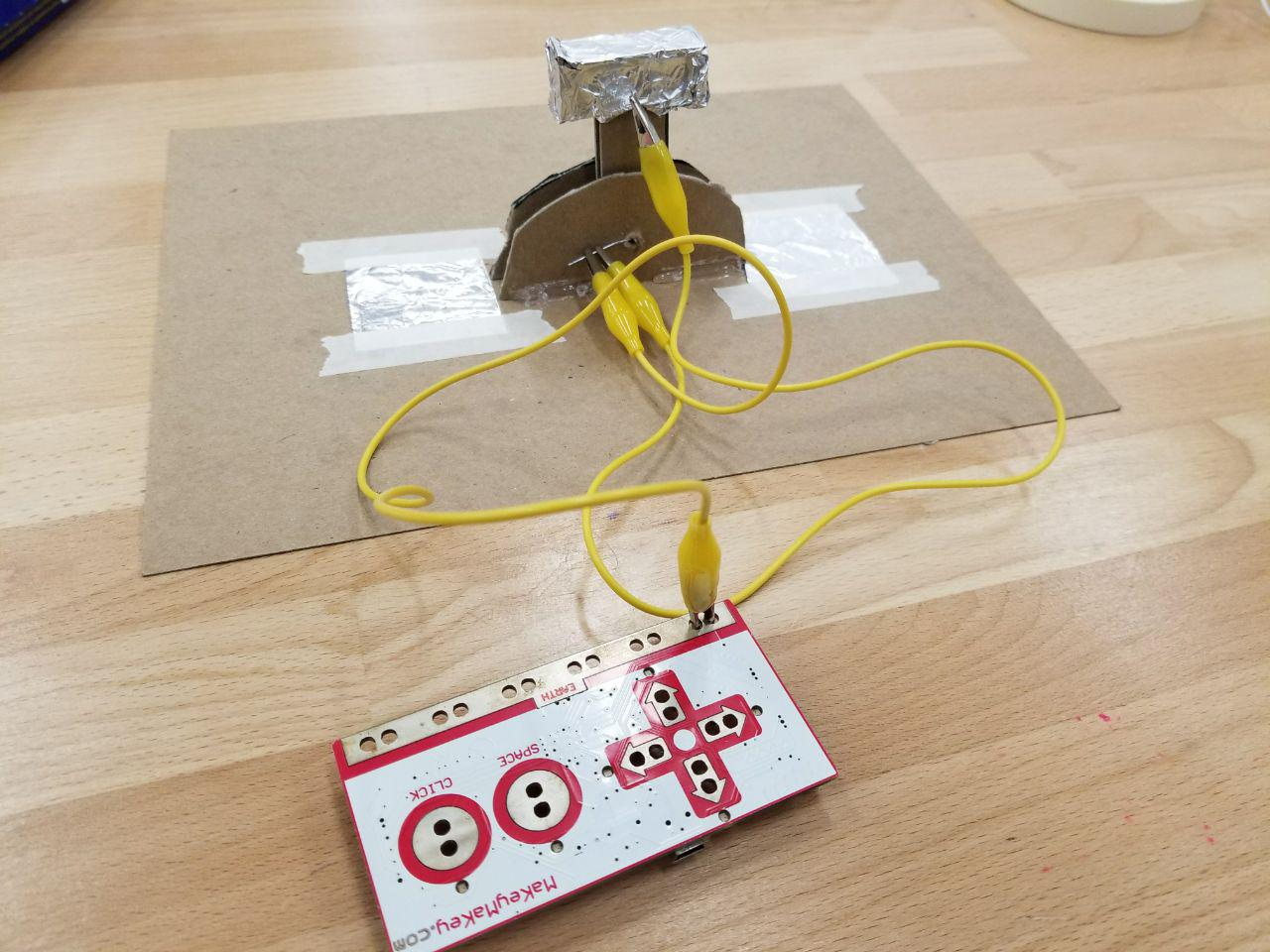 cardboard makey makey switch final version
