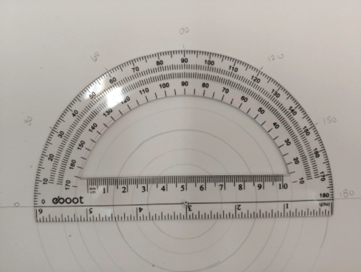 mandala student project protractor