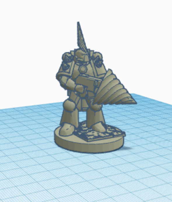 tinkercad prompts action figure