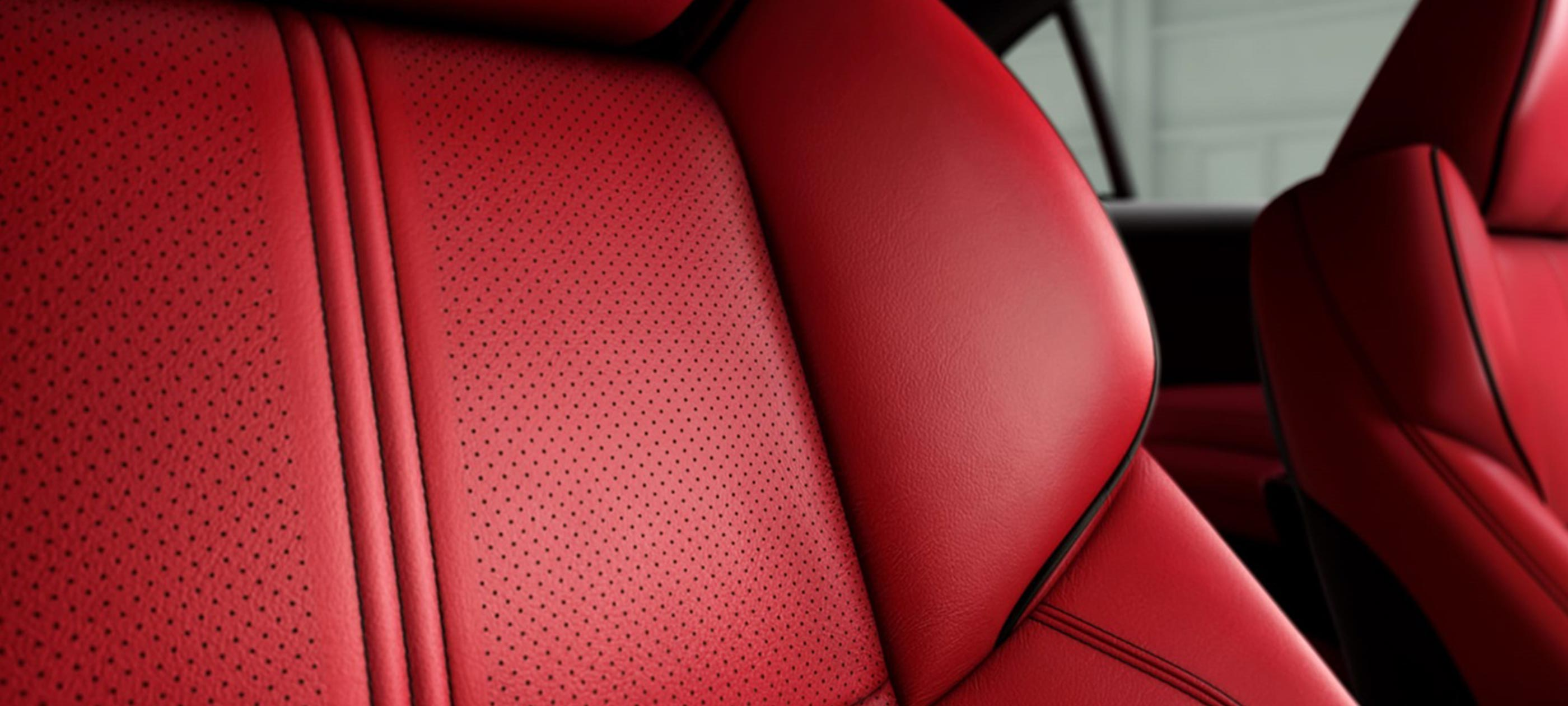 Perforated Milano Leather Sport Seats
