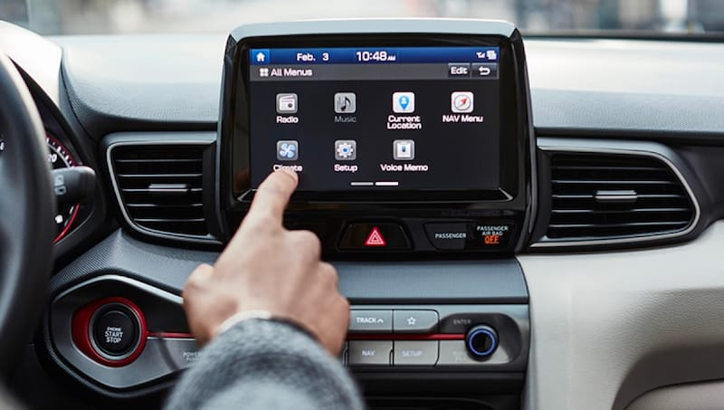 Available 8-Inch Touchscreen