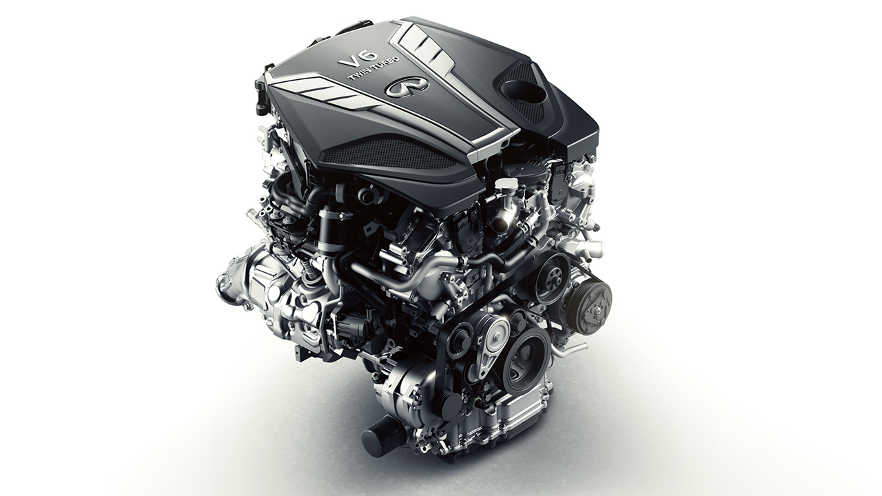 3.0-LITER V6 TWIN-TURBO ENGINE