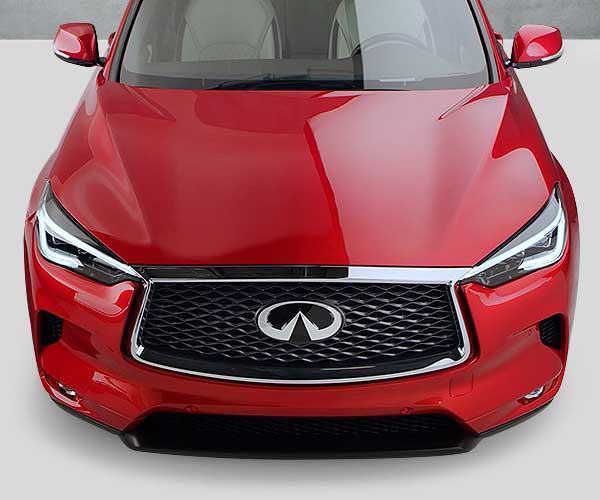 QX50 Overhead Front View