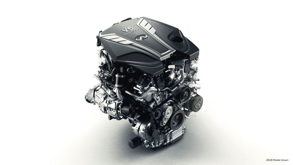 3.0-LITER TWIN-TURBO V6 ENGINE