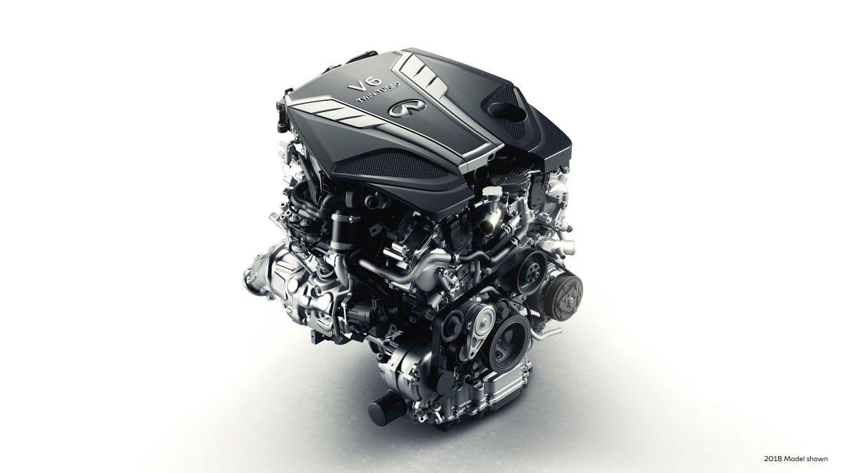 3.0-LITER TWIN-TURBO V6 ENGINE