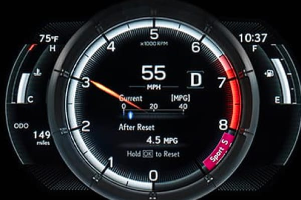 2020 ES Hybrid-Performance
