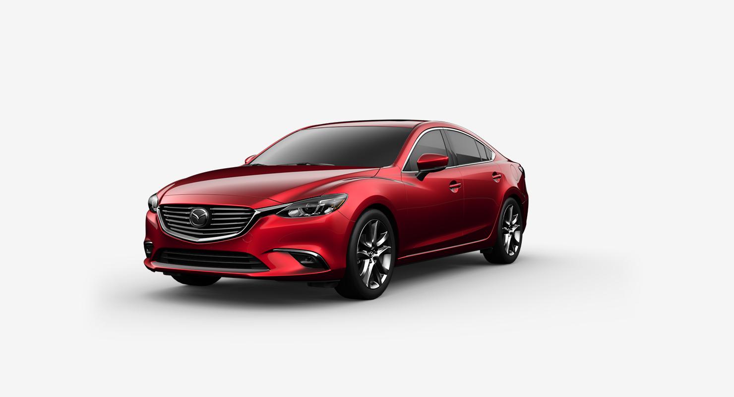 2017 Mazda6, Soul Red