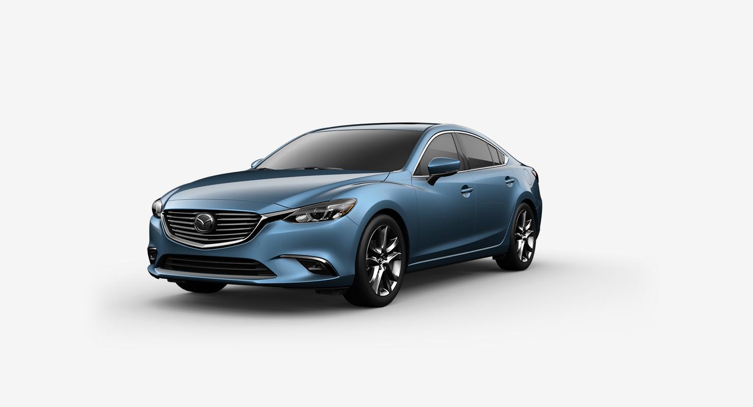 2017 Mazda6, Blue Reflex