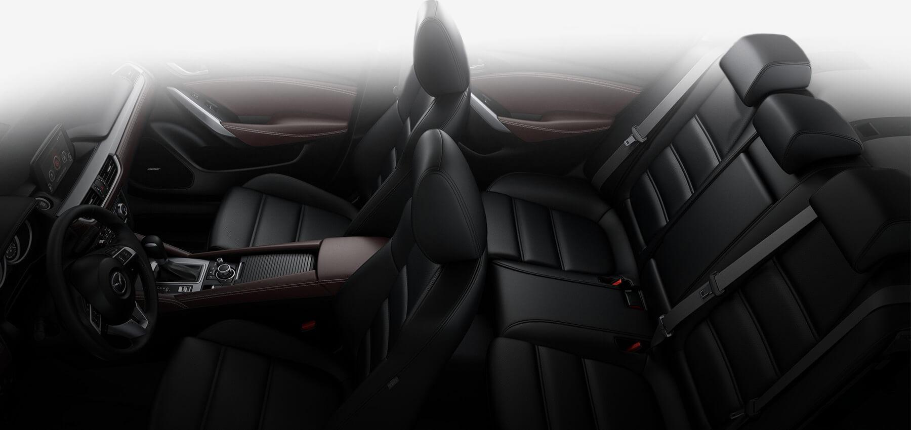 2017 Mazda6, Black Leather