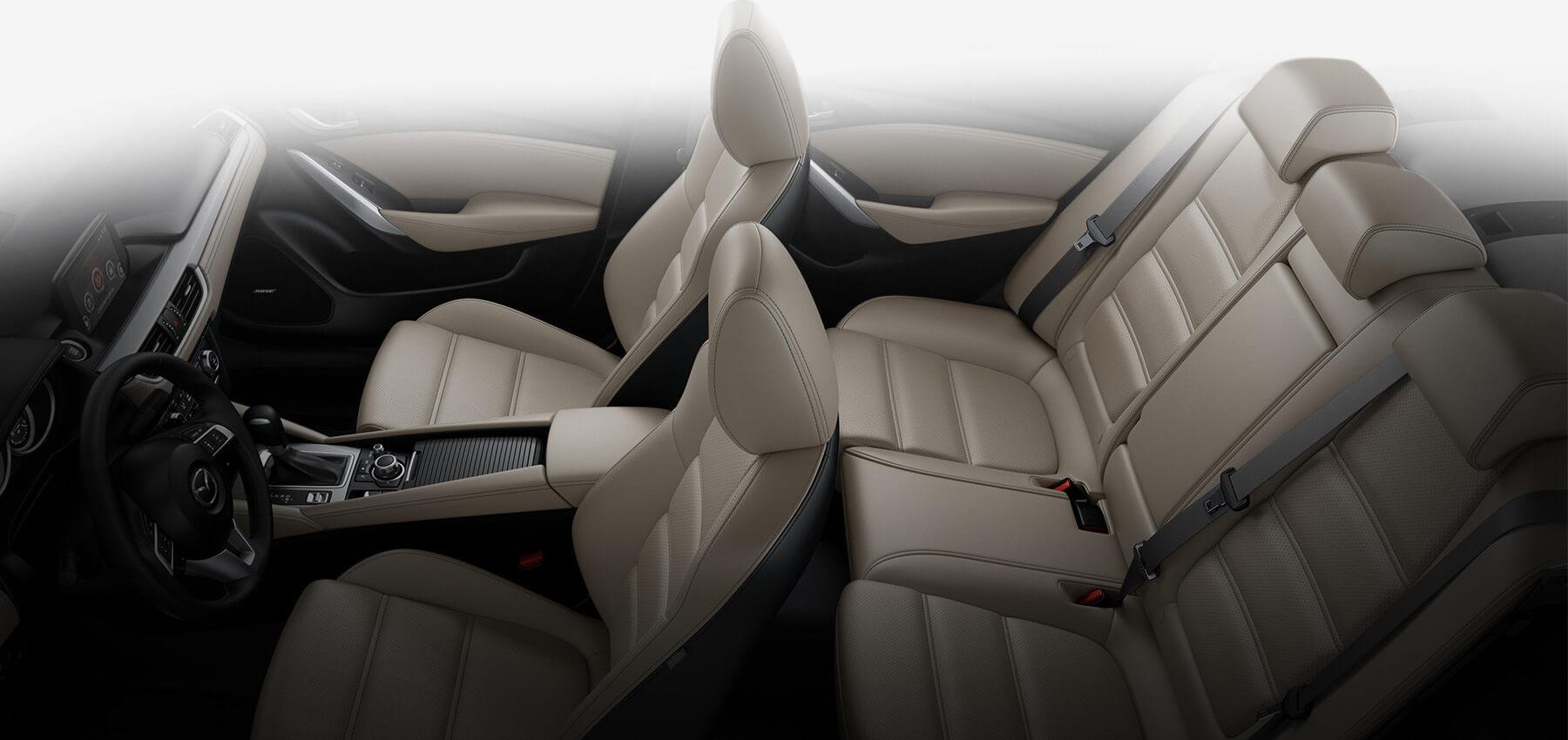 2017 Mazda6, Sand Leatherette