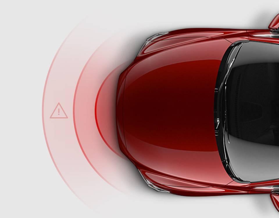 2017 Mazda6, SMART CITY BRAKE SUPPORT