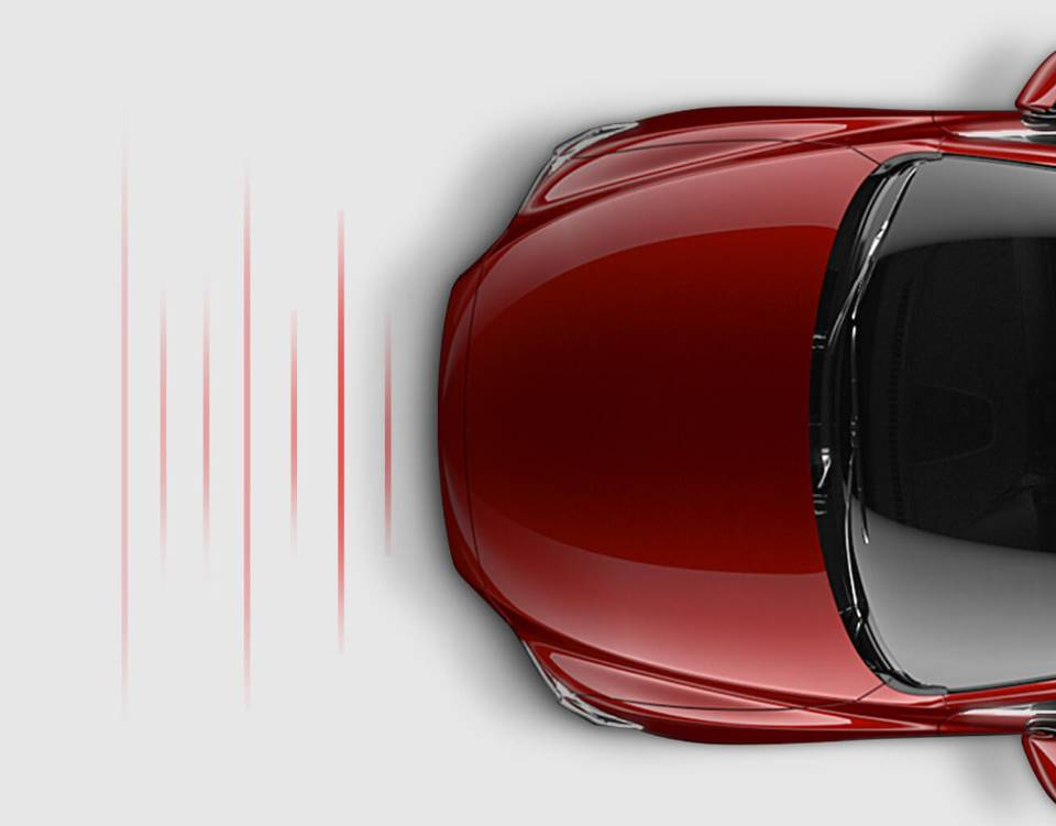 2017 Mazda6, DISTANCE RECOGNITION SUPPORT SYSTEM