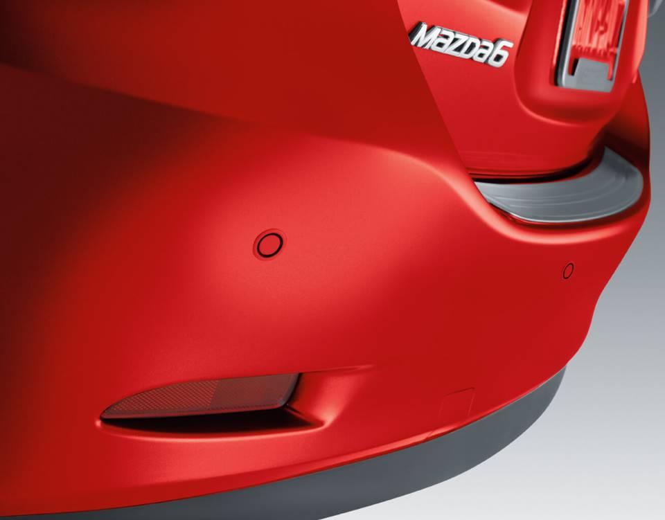 2017 Mazda6, REAR PARKING SENSORS