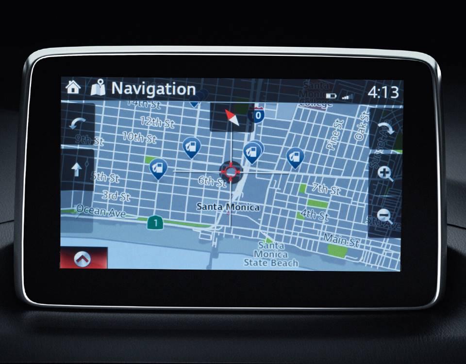 2017 Mazda6, NAVIGATION SYSTEM