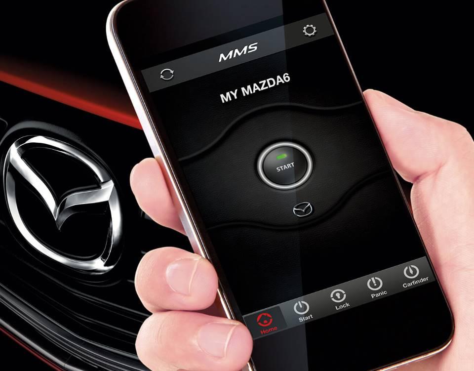 2017 Mazda6, MAZDA MOBILE START