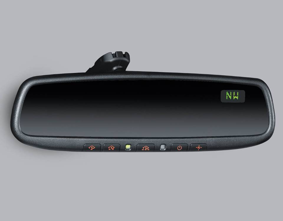 2017 Mazda6, AUTO-DIMMING REARVIEW MIRROR