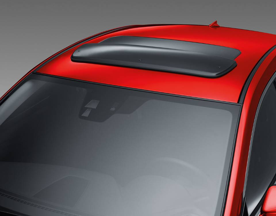 2017 Mazda6, MOONROOF WIND DEFLECTOR