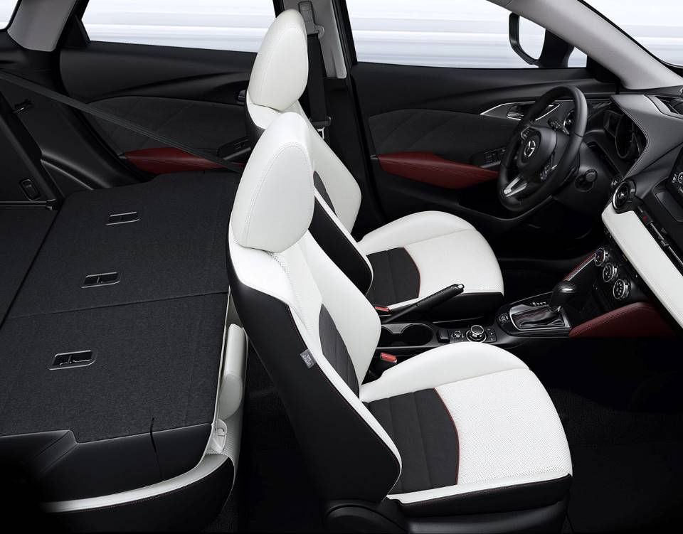 2018 CX 3, MORE SPACE INSIDE SO YOU CAN DO MORE OUTSIDE