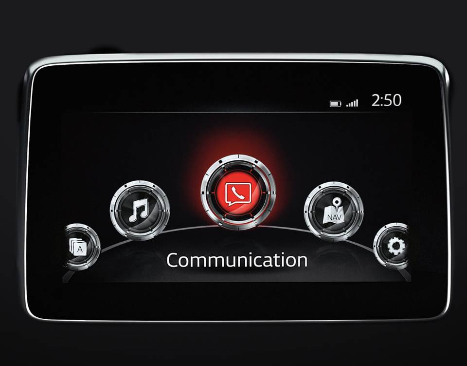 2018 CX 3, MAZDA CONNECT™ INFOTAINMENT SYSTEM
