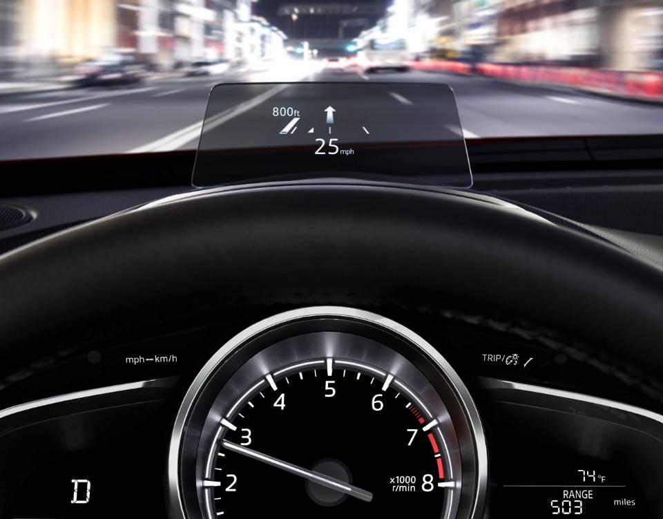 2018 CX 3, ACTIVE DRIVING DISPLAY