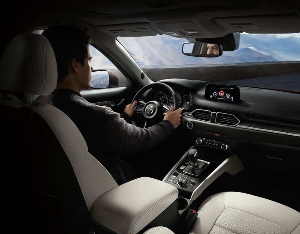 2018 CX 5, DRIVER-CENTRIC INTERIOR