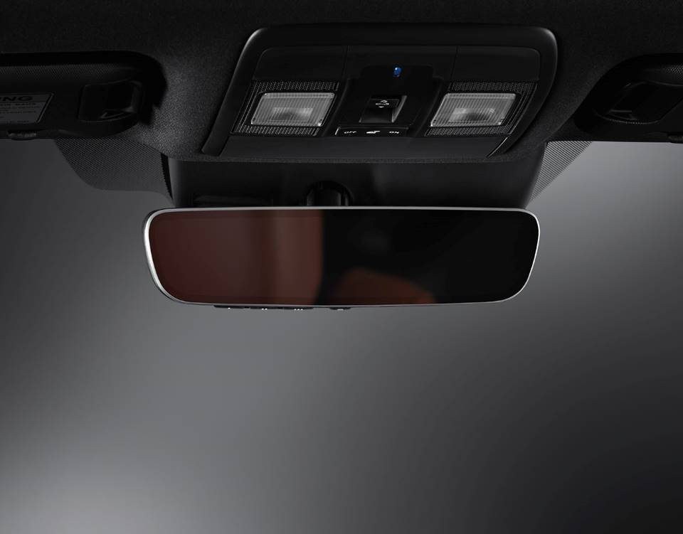 2018 CX 9, AUTO-DIMMING REARVIEW MIRROR WITH HOMELINK®