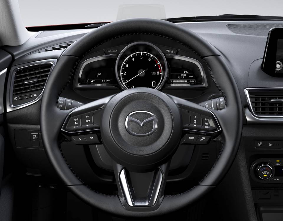2018 Mazda3 Hatchback, AN INTERIOR BUILT AROUND THE DRIVER
