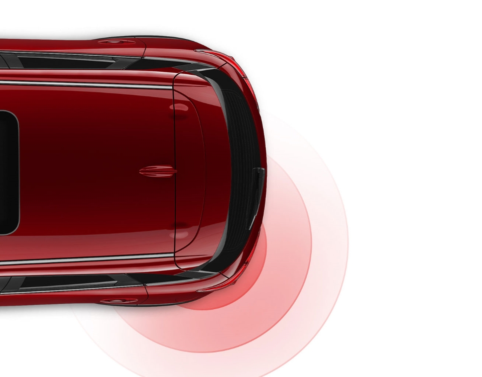 2018 Mazda3 Hatchback, ADVANCED BLIND SPOT MONITORING