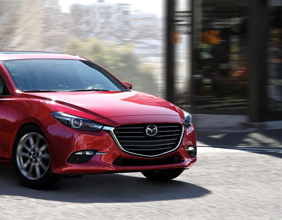 2018 Mazda3 Hatchback, BETTER HANDLING. MORE DRIVING EXHILARATION