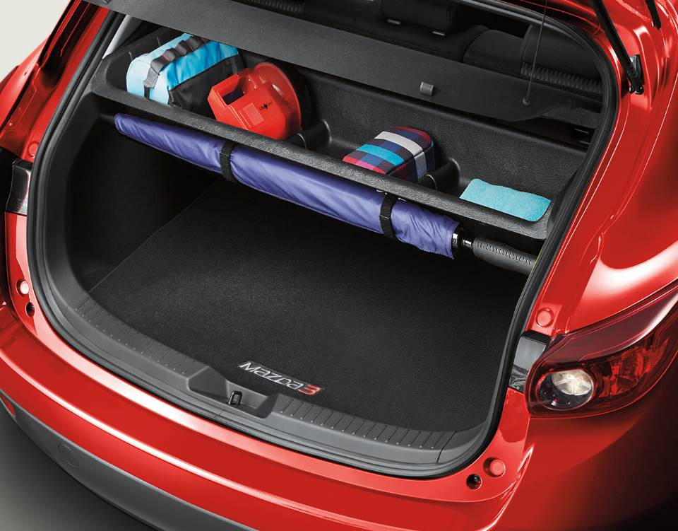 2018 Mazda3 Hatchback, CARGO STORAGE SHELF