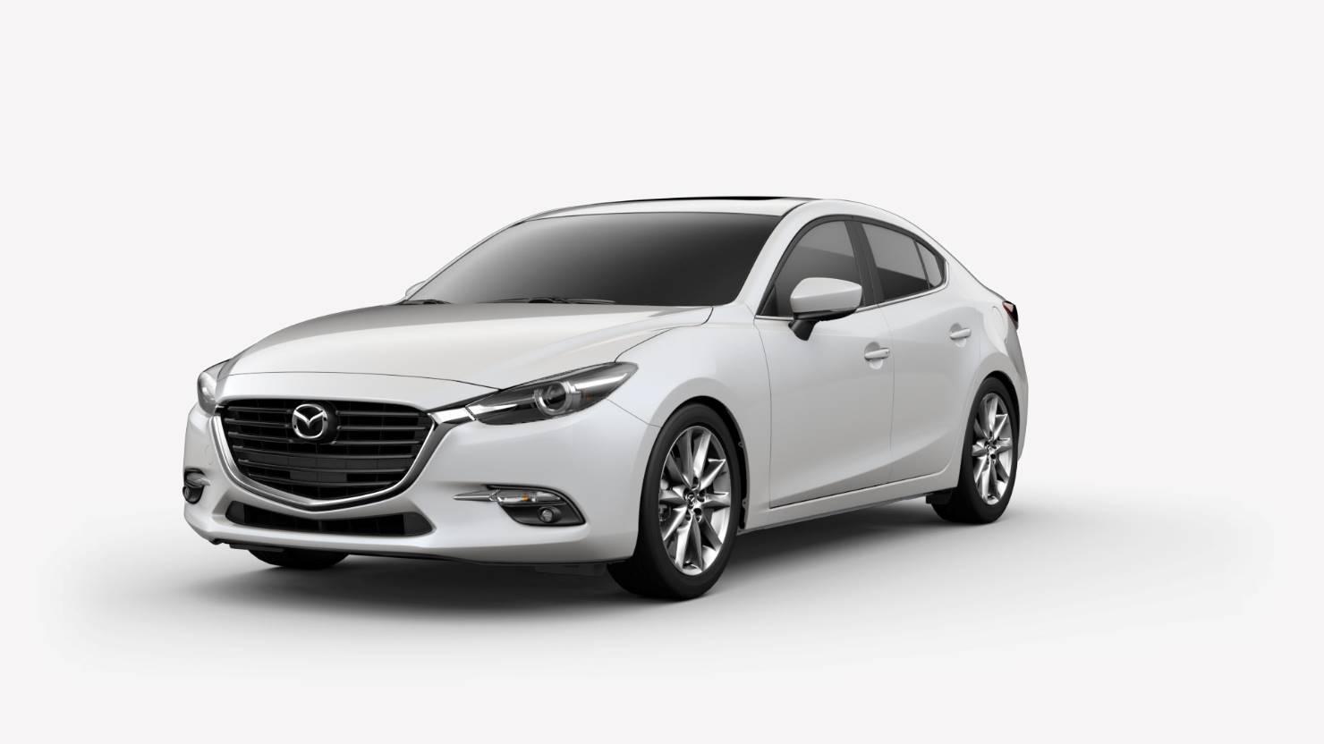 2018 Mazda3 Sedan, Snowflake White Pearl
