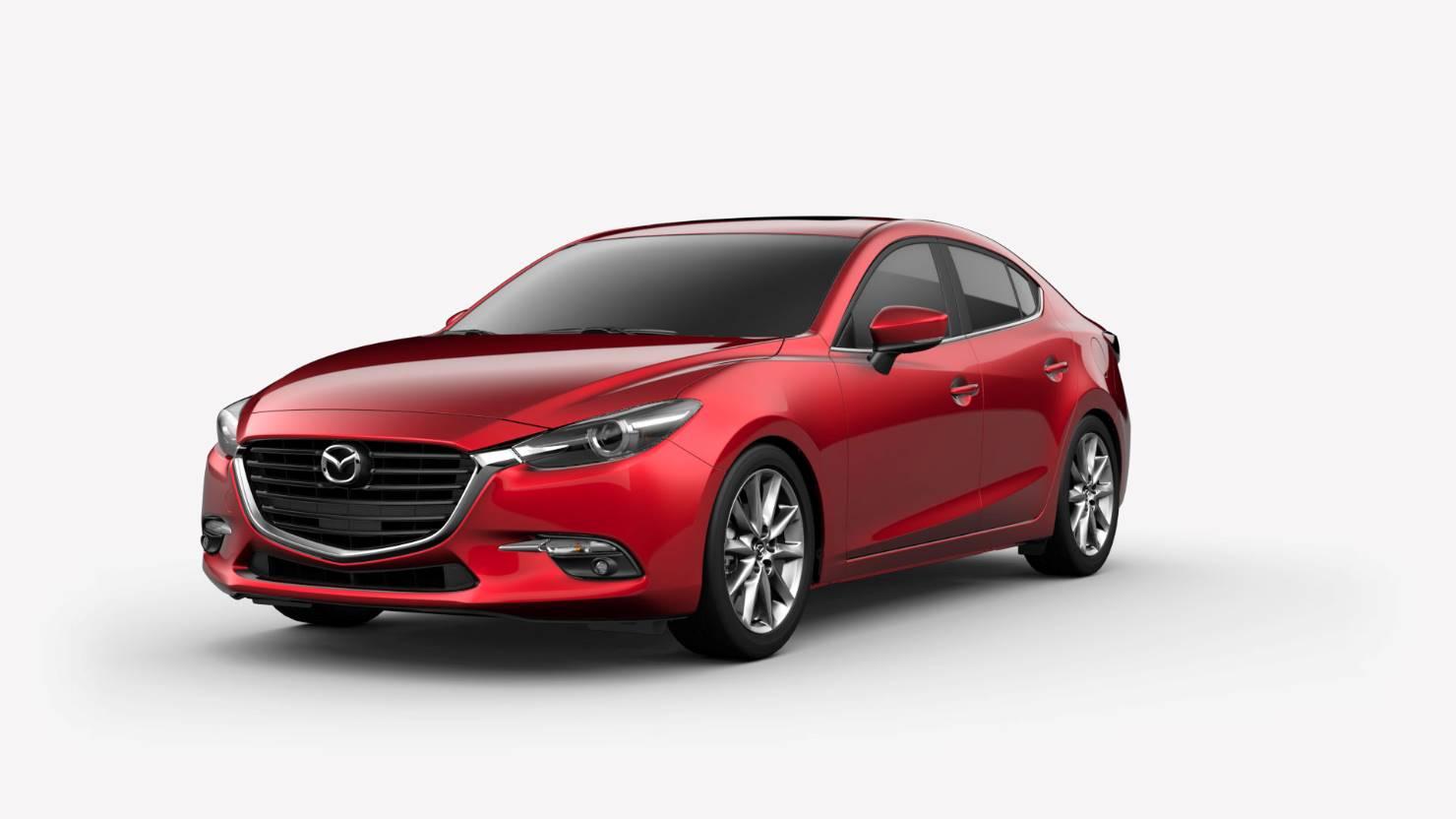 2018 Mazda3 Sedan, Soul Red