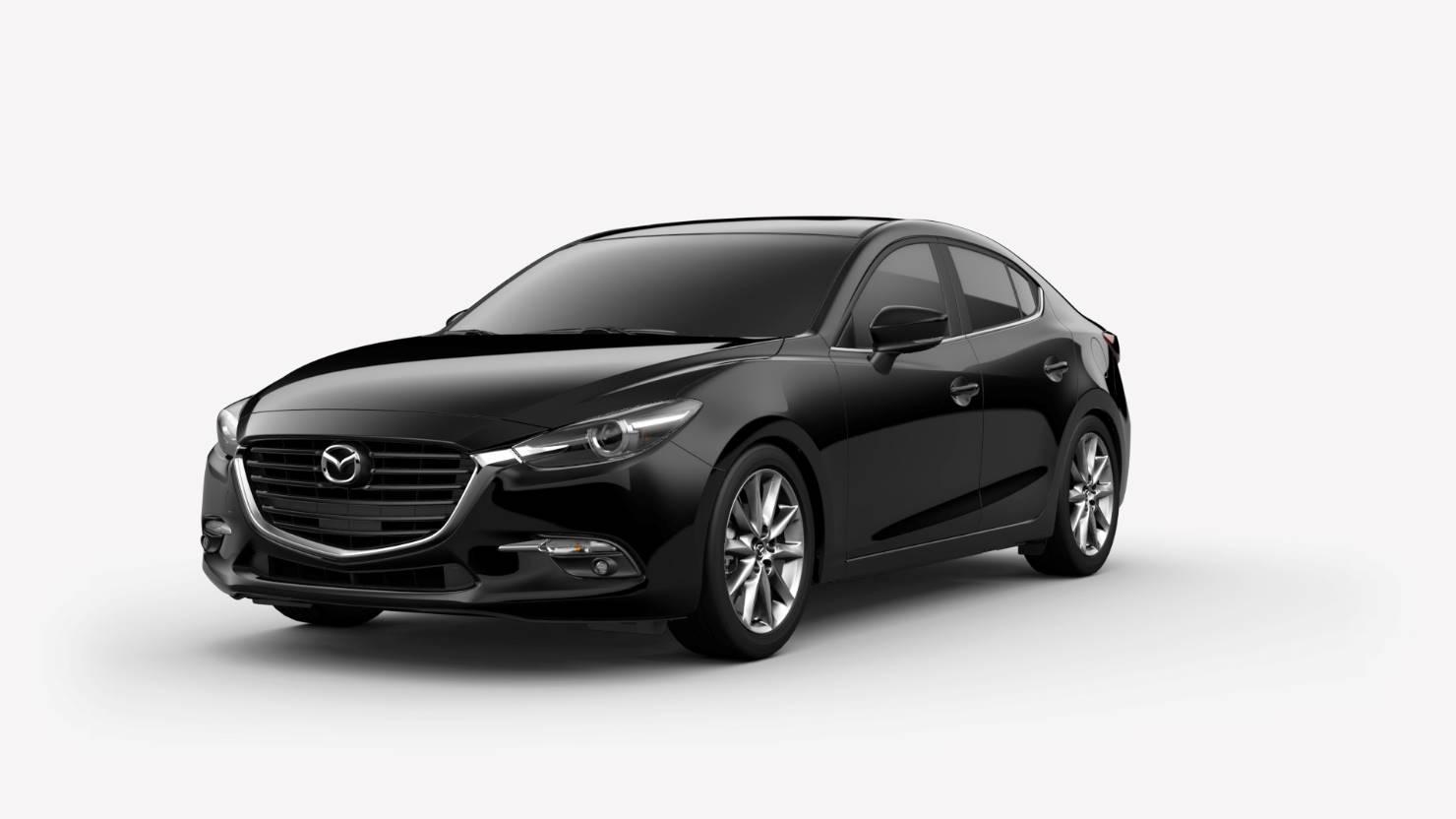 2018 Mazda3 Sedan, Jet Black