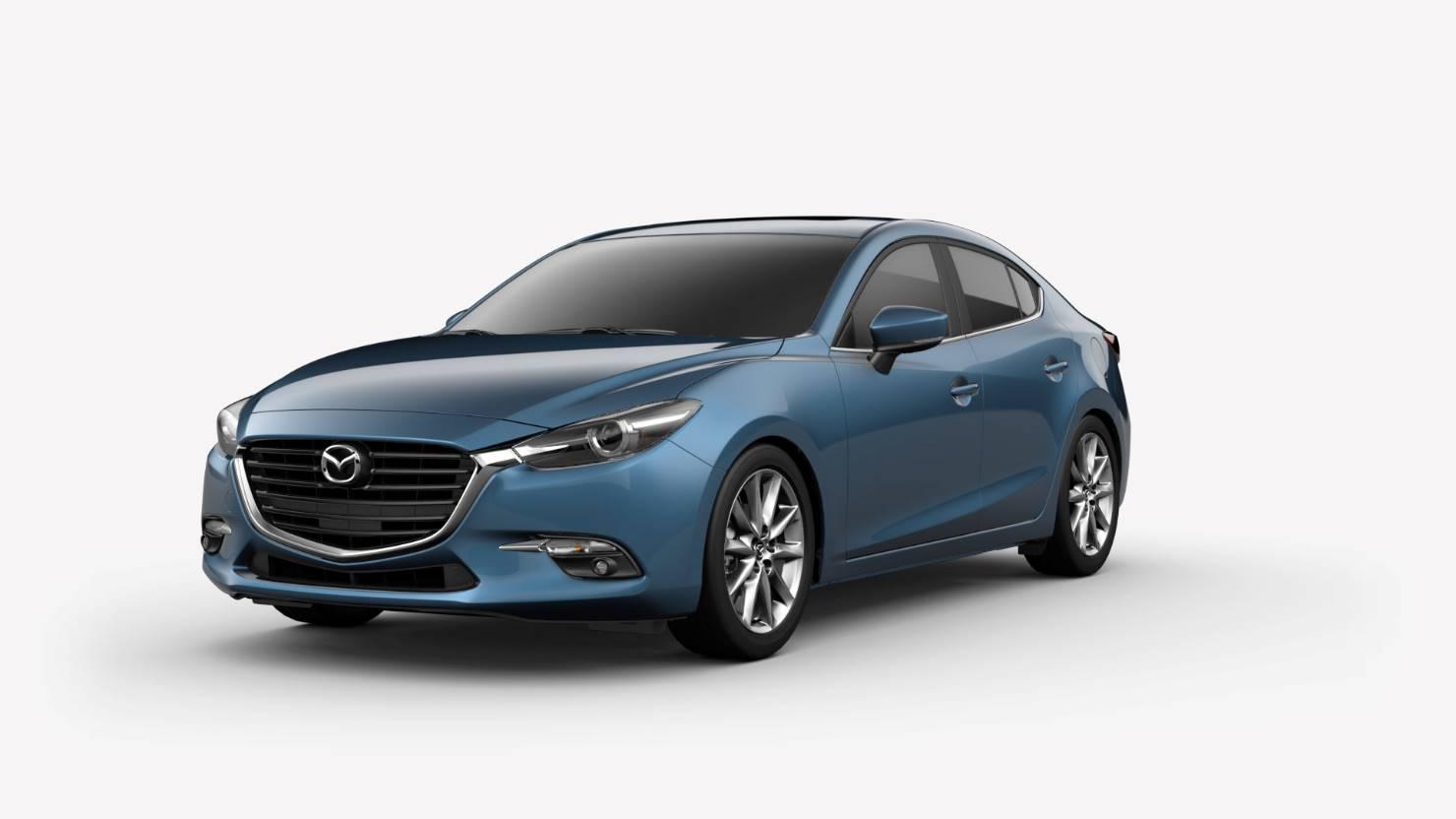 2018 Mazda3 Sedan, Eternal Blue