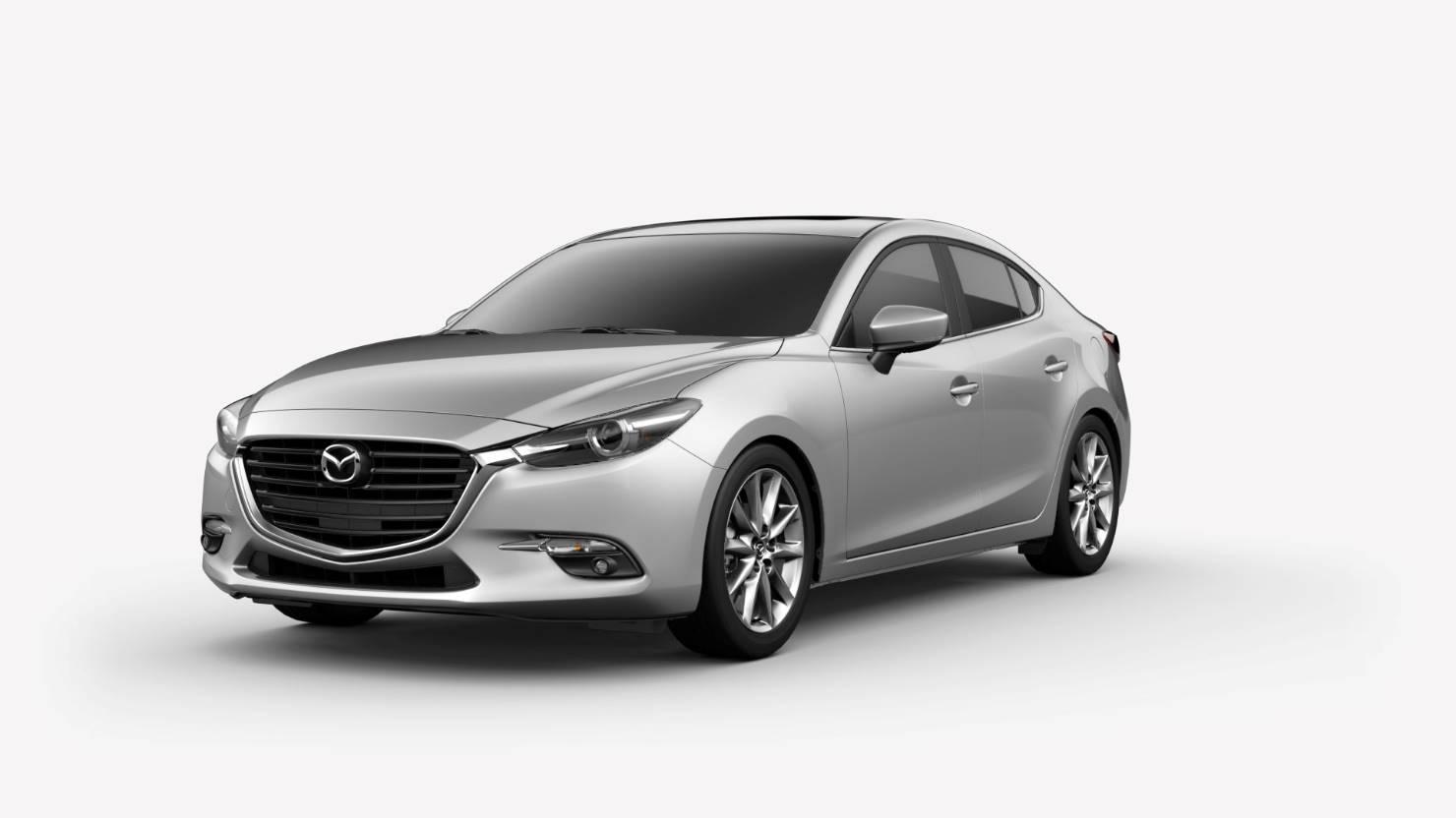 2018 Mazda3 Sedan, Sonic Silver