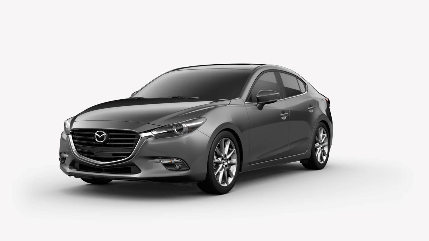 2018 Mazda3 Sedan, Machine Gray