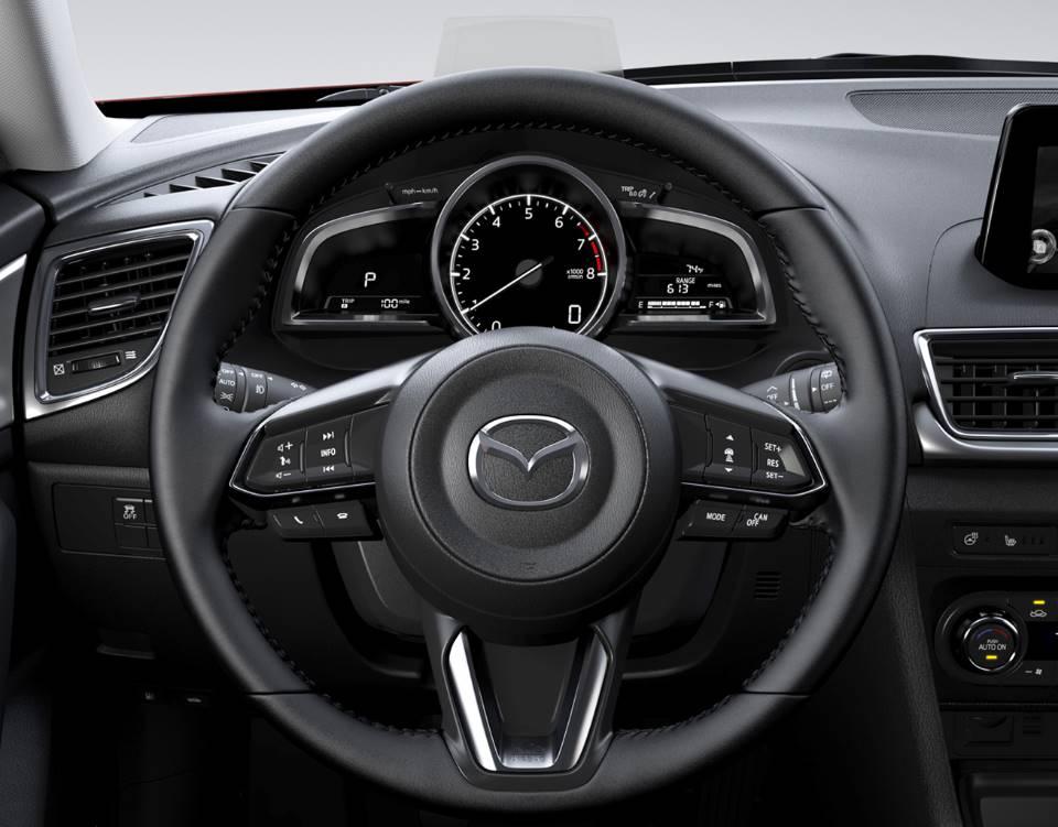 2018 Mazda3 Sedan, AN INTERIOR BUILT AROUND YOU
