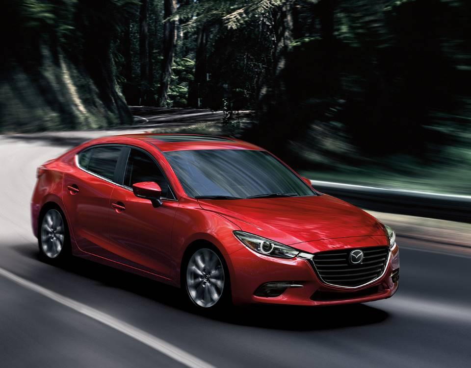 2018 Mazda3 Sedan, MORE CONFIDENCE ON EVERY CURVE