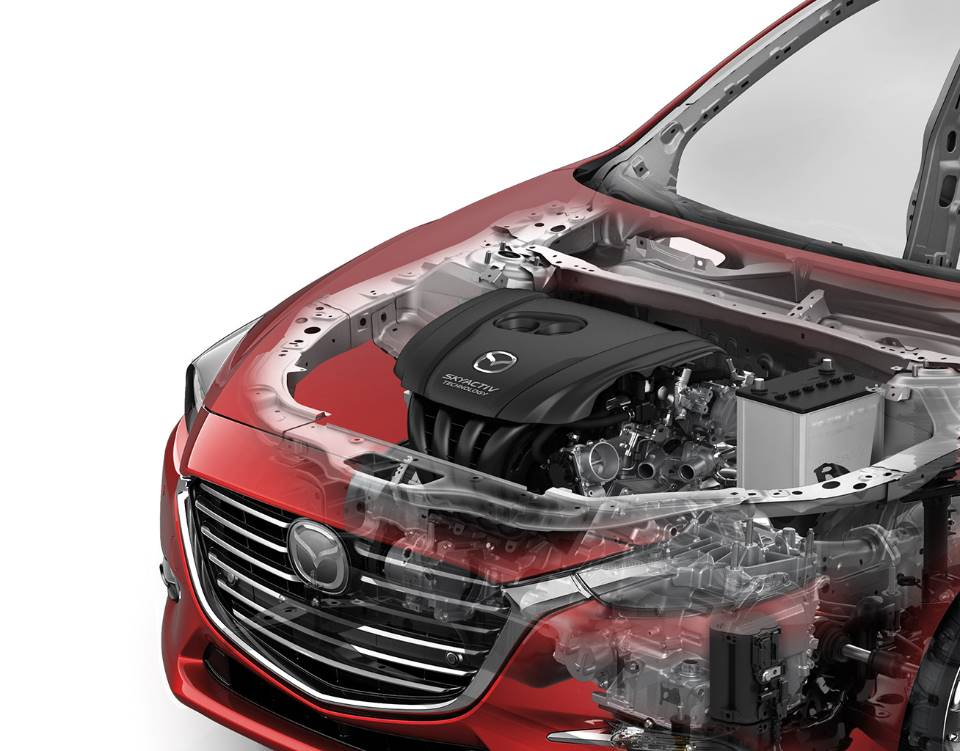2018 Mazda3 Sedan, SKYACTIV® TECHNOLOGY