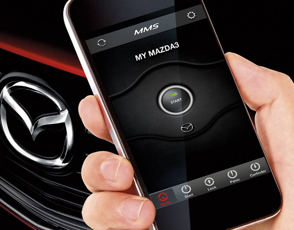2018 Mazda3 Sedan, MAZDA MOBILE START