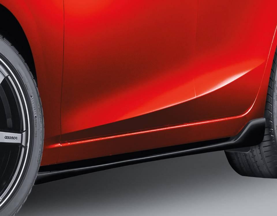 2018 Mazda3 Sedan, SIDE SILL EXTENSIONS