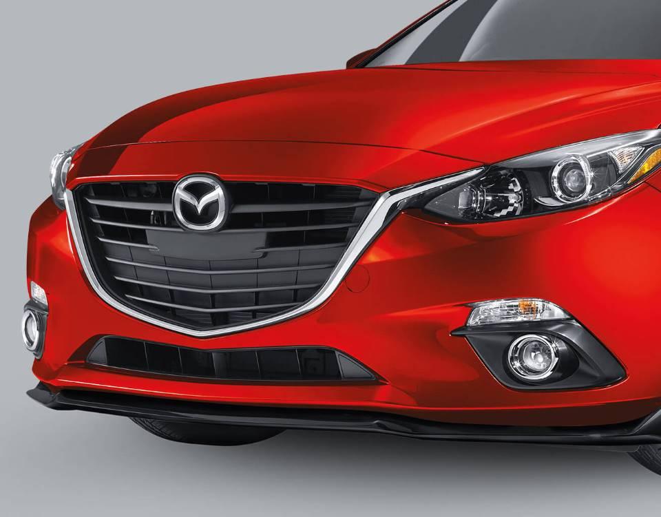 2018 Mazda3 Sedan, FRONT AIR DAM