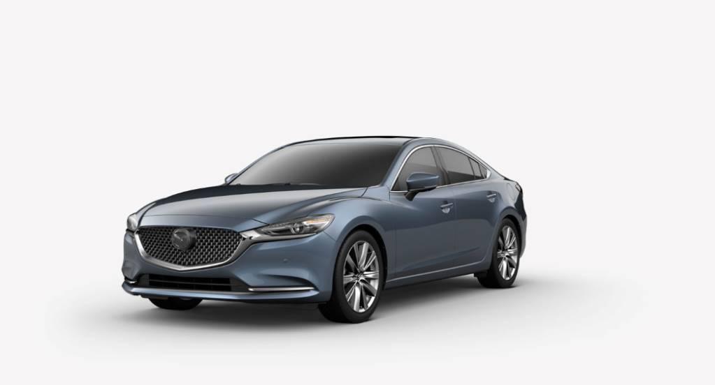 2018 Mazda6, Blue Reflex