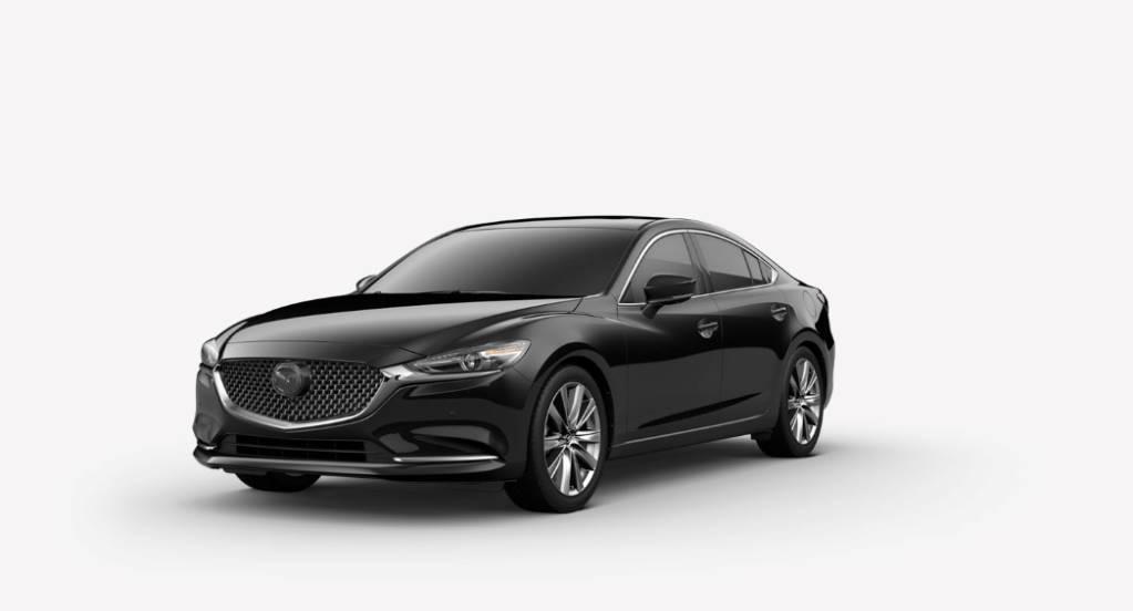 2018 Mazda6, Jet Black