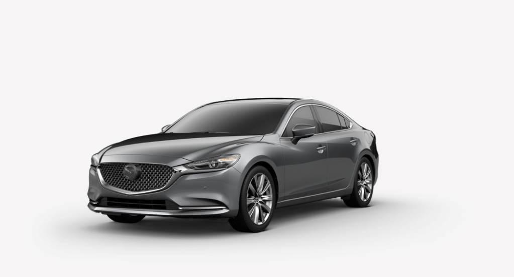 2018 Mazda6, Machine Gray
